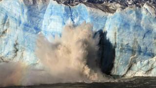 Perito Moreno: Τμήμα του γιγαντιαίου παγετώνα της Αργεντινής ετοιμάζεται να καταρρεύσει