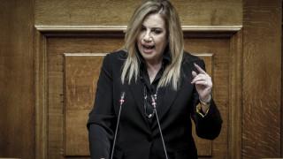 Γεννηματά: Αν έχουν γραμμή να συγκαλέσουν επιτέλους Συμβούλιο Πολιτικών Αρχηγών