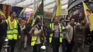 Συγκρούσεις σε διαδηλώσεις υπέρ των Κούρδων στη Γερμανία