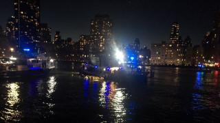 Νέα Υόρκη: Συντριβή ελικοπτέρου στο Ιστ Ρίβερ - Πληροφορίες για νεκρούς
