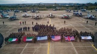Ξεκίνησε η πολυεθνική αεροπορική άσκηση «Ηνίοχος 2018»