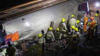 Σύγκρουση λεωφορείου με φορτηγό στην Τουρκία: Δεκάδες νεκροί και τραυματίες