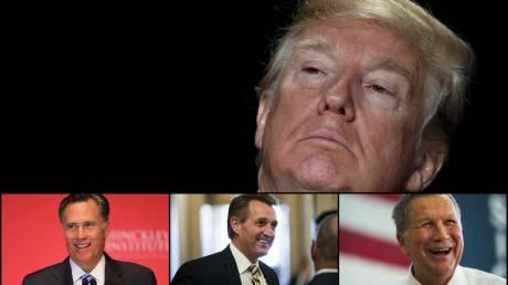 Αυτοί είναι οι τρεις πιθανοί αντι-Τραμπ