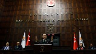 Νέα «πυρά» Ερντογάν κατά της Ε.Ε. και της Ελλάδας