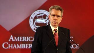 Πάιατ: Οι ΗΠΑ ελπίζουν να δουν ενισχυμένη διμερή επενδυτική συνεργασία με την Ελλάδα