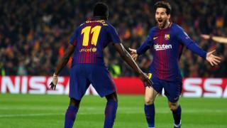 Champions League: Ο «100άρης» Μέσι οδήγησε τη Μπαρτσελόνα στους «8»