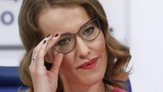 Σομπτσάκ: Η υποψήφια για την προεδρία της Ρωσίας έφυγε κλαίγοντας από debate