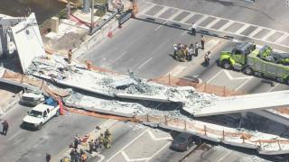 Φλόριντα: Κατέρρευσε πεζογέφυρα - Πληροφορίες για εγκλωβισμένους και έναν νεκρό