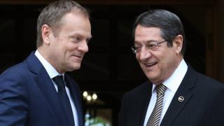 Τηλεφωνική συνομιλία Τουσκ - Αναστασιάδη ενόψει του Ευρωπαϊκού Συμβουλίου στις Βρυξέλλες