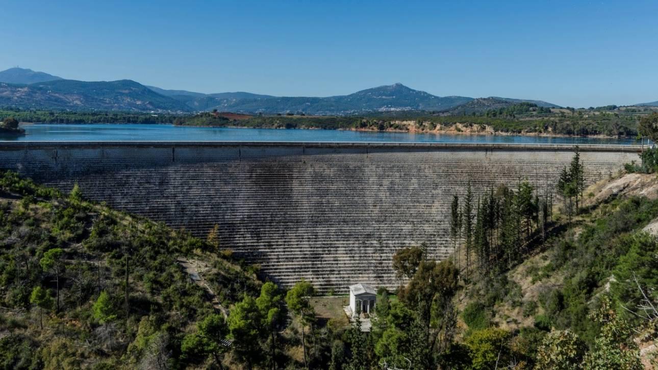 Η ιστορία του φράγματος και της λίμνης του Μαραθώνα