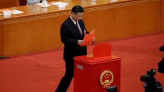 Κίνα: Επανεξελέγη, ομόφωνα, πρόεδρος ο Σι Τζινπίνγκ