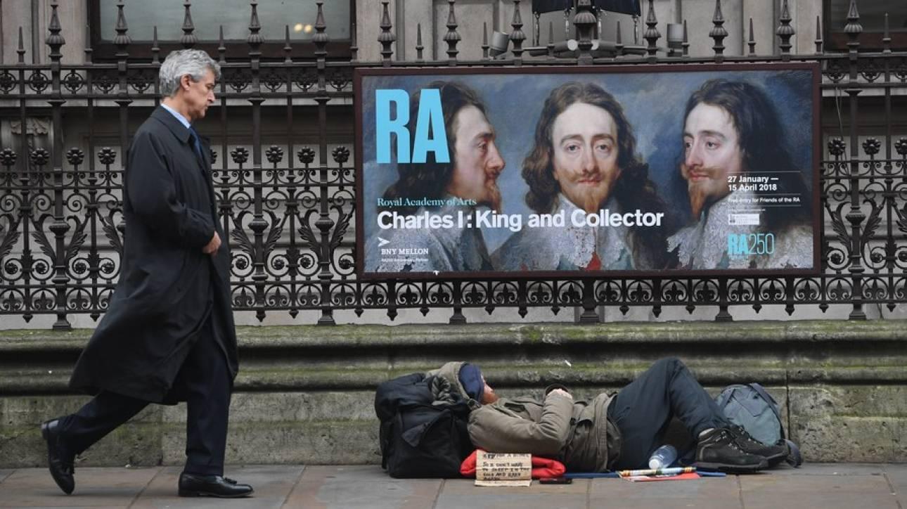 Βρετανική πόλη θα επιβάλει πρόστιμα... 100 λιρών σε αστέγους