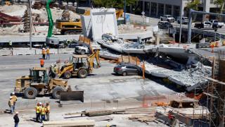 Μαϊάμι: Υπήρχαν προειδοποιήσεις για ρωγμές πριν από την κατάρρευση της γέφυρας