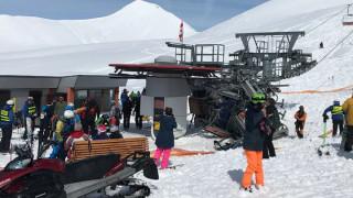Χάος σε χιονοδρομικό κέντρο: Σκιέρ εκτοξεύονται στον αέρα μετά από βλάβη σε λιφτ