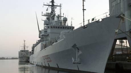 Τέσσερα ναρκοθηρικά σκάφη της Νατοϊκής Μοίρας στο λιμάνι της Κέρκυρας
