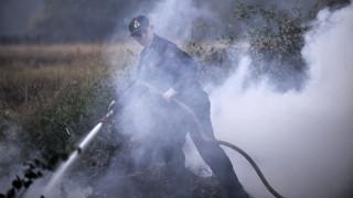 Χανιά: Πυρκαγιά σε δύσβατη περιοχή στις Στροβλές Κισσάμου