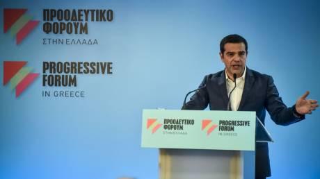 Τσίπρας: Είναι κρίσιμο να μιλήσουμε για μια νέα Αριστερά στην Ευρώπη