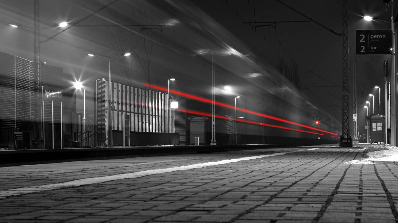 Τρένο… φάντασμα έκανε «στάση» σε σταθμό της Κίνας