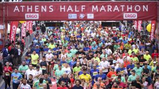 Ημιμαραθώνιος Αθήνας: «Γιορτή» με χιλιάδες μικρούς και μεγάλους δρομείς