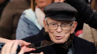 Ο επιζών του Ολοκαυτώματος Μοσέ Αελιών λέει γι' άλλη μια φορά «Ποτέ Ξανά» στη ναζιστική θηριωδία