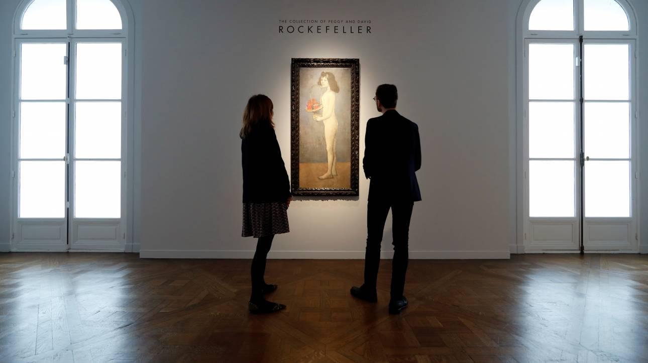 Στο «σφυρί» η μυθική συλλογή έργων τέχνης των Ροκφέλερ