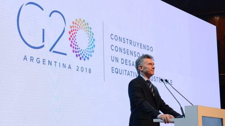 Ο κίνδυνος εμπορικού πολέμου στο επίκεντρο της G20