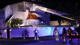 Δανία: Επίθεση με μολότοφ στην τουρκική πρεσβεία της Κοπεγχάγης