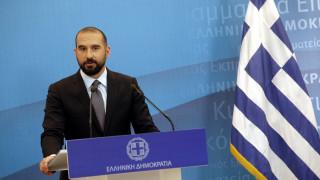 Τζανακόπουλος: Άριστη η σχέση Αλέξη Τσίπρα - Πάνου Καμμένου