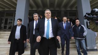 Π.Καμμένος: Η συγκυβέρνηση θα φτάσει μέχρι το τέλος