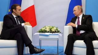 Επικοινωνία Μακρόν με Πούτιν για Συρία και υπόθεση Σκριπάλ
