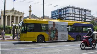 Χωρίς τρόλεϊ για πέντε ώρες η Αθήνα την Τετάρτη