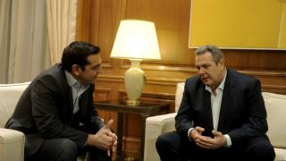 Συνάντηση Τσίπρα – Καμμένου η απάντηση στα σενάρια περί ρήξης