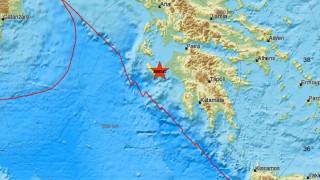 Σεισμός αναστάτωσε τα ξημερώματα τη Ζάκυνθο