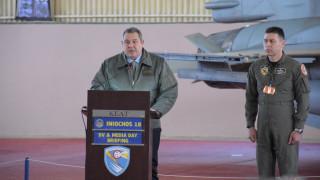 Καμμένος: Η Ελλάδα μπορεί να αποτελέσει το κέντρο της στρατιωτικής αεροπορικής εκπαίδευσης