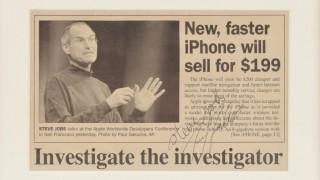 Στιβ Τζομπς: η υπογραφή (και μόνο) του Mr. Apple αξίζει 154.000 δολάρια