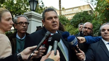 Καμμένος: Η συνεργασία ΣΥΡΙΖΑ-ΑΝΕΛ θα συνεχιστεί μέχρι τέλους
