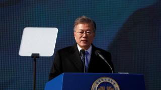 Μουν Τζε-ιν: Εφικτή μία τριμερής με τη Βόρεια Κορέα και τις ΗΠΑ