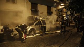 Αυτοκίνητο στη Θεσσαλονίκη τυλίχθηκε στις φλόγες εν κινήσει