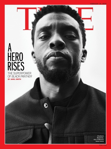 Black Panther Time cover 1