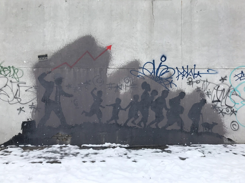banksy mural