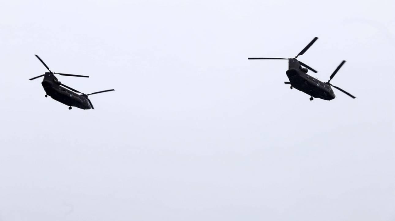 Τουρκικά μαχητικά επιχείρησαν να παρενοχλήσουν το ελικόπτερο που μετέφερε τον αρχηγό ΓΕΣ