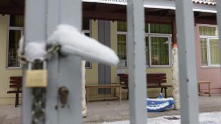 Κλειστά τα σχολεία στη Φλώρινα λόγω των χιονοπτώσεων