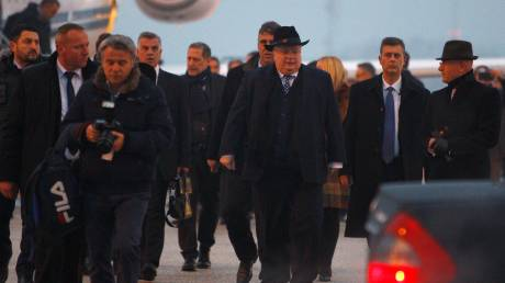 Μαραθώνιος επαφών Κοτζιά στα Σκόπια