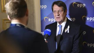 Αναστασιάδης: Ικανοποίηση για την αλληλεγγύη της ΕΕ προς Κύπρο και Ελλάδα