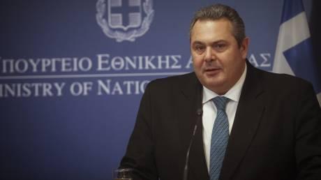 Π.Καμμένος: Όποιος παραβιάζει ελληνικό εναέριο χώρο θα αναχαιτίζεται