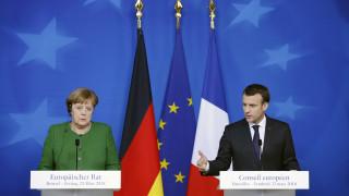 Την ανησυχία της ΕΕ για τη στάση της Τουρκίας απέναντι σε Ελλάδα και Κύπρο μετέφεραν Μέρκελ - Μακρόν