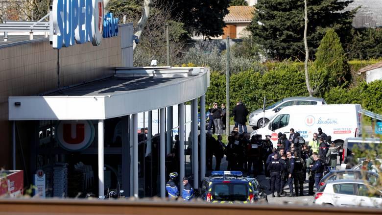 Γαλλία: Το Ισλαμικό Κράτος ανέλαβε την ευθύνη για την επίθεση στο σούπερ μάρκετ