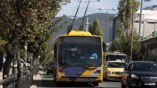 Χωρίς τρόλεϊ για πέντε ώρες την Τετάρτη η Αθήνα