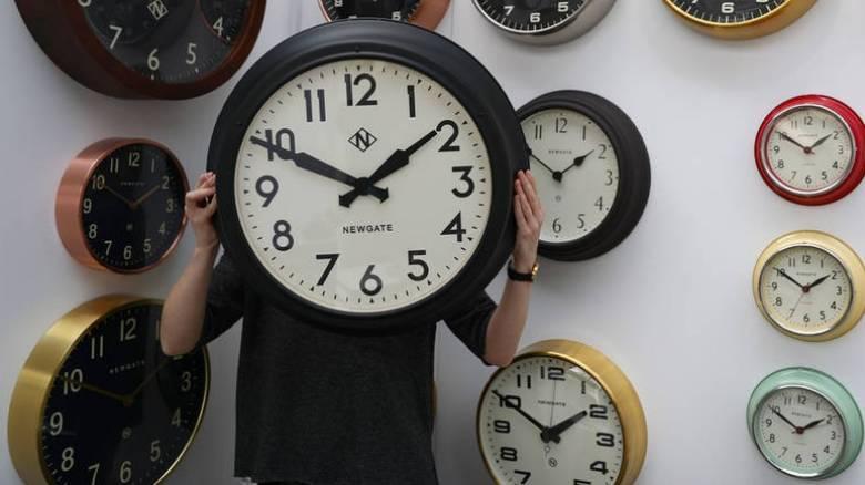 Αντίστροφη μέτρηση για την αλλαγή της ώρας