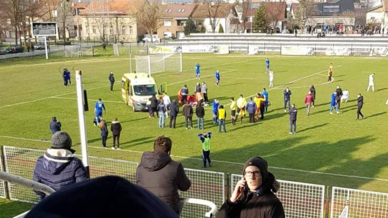 Τραγωδία στην Κροατία: Ποδοσφαιριστής πέθανε εντός γηπέδου